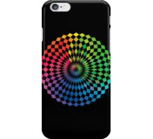 Spirograph - Color Spectrum Difference iPhone Case/Skin