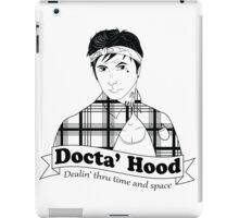 Docta' Hood - Dealin' thru Time & Space iPad Case/Skin