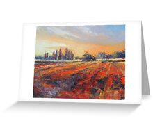 Italian landscape Painting Greeting Card