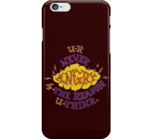 R-U Angry ? iPhone Case/Skin