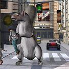 The evil mutant squirrel by Annika Strömgren