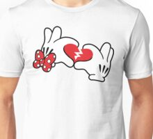 Minnie broken heart Unisex T-Shirt