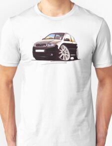 Skoda Fabia vRS Black Unisex T-Shirt