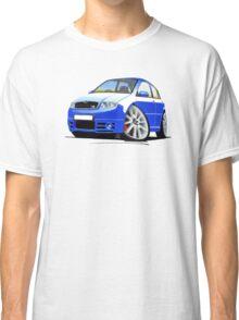 Skoda Fabia vRS Race Blue Classic T-Shirt