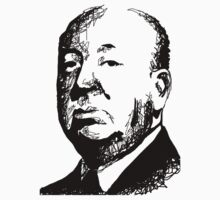 Alfred Hitchcock by burro by burrotees