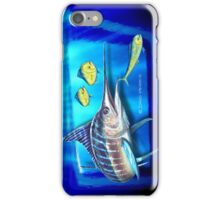 Striped Marlin & Dolphin fish iPhone Case/Skin
