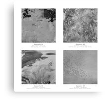 Materials - The beauty of concrete Canvas Print