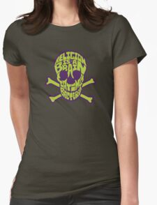 BACTERIA OF RELIGION (color2) by Tai's Tees Womens Fitted T-Shirt