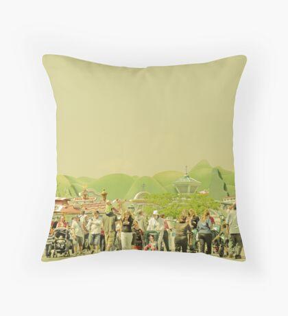Museum of Tolerance Throw Pillow