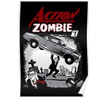 Action Zombie #1 Poster