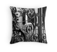 43-1/2 Meeting Street #1, Charleston, SC Throw Pillow