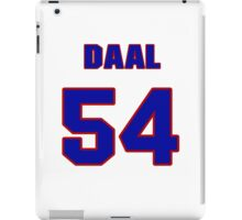 National baseball player Omar Daal jersey 54 iPad Case/Skin