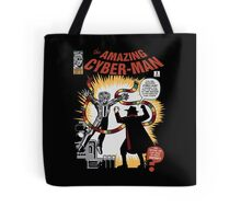The Amazing Cyber-Man! Tote Bag