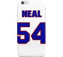 National baseball player Blaine Neal jersey 54 iPhone Case/Skin