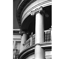 Round Portico, Charleston, SC Photographic Print