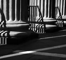 Randolph Hall Columns & Shadows by Benjamin Padgett