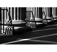 Randolph Hall Columns & Shadows Photographic Print
