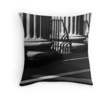 Randolph Hall Columns & Shadows Throw Pillow
