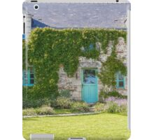 A Cottage in Beganne, Brittany, France iPad Case/Skin