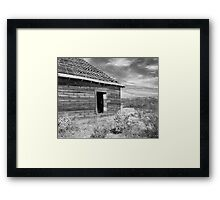 Forgotten high plains dreams Framed Print