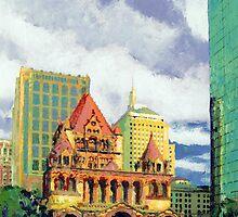 Trinity Church, Boston Massachusetts by RDRiccoboni