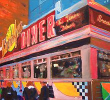 Brooklyn Diner - New York City by RDRiccoboni