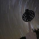 Star Trails at Mt Kaputar by Tim Bates