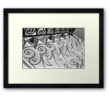 Shadows & Stairs No. 2 Framed Print