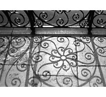 Shadow Swirls No. 2, Old Exchange Photographic Print