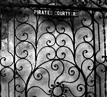 Pirates Courtyard by Benjamin Padgett