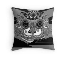 Cat-God Throw Pillow