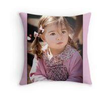 Mummy look what I found Throw Pillow