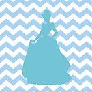 Cinderella Chevron print by sweetsisters