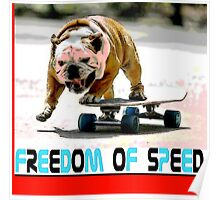 Freedom Of Speed Poster