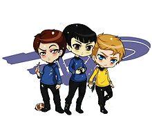 Star Trek Chibi by elledontyoudare