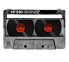Cool Cassette Tape Photographic Print