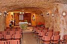 Coober Pedy underground church by Ian Berry
