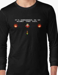 Zelda - It's Dangerous to go alone! Long Sleeve T-Shirt