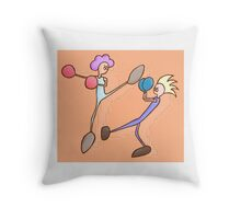 Savateurs Throw Pillow