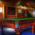 Pool Table - HDR by Harry Dinnen