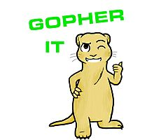 just gopher it Photographic Print