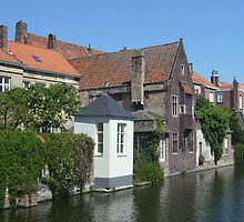 Bruges canal by Gemma Louise Pap