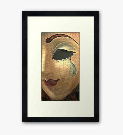 The Tear Framed Print