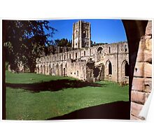 Fountains Abbey 15 Poster