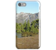 Snowy east face of Cradle from  Artillery Knob iPhone Case/Skin