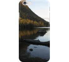 Mount Rogoona and Lake Myrtle late afternoon iPhone Case/Skin