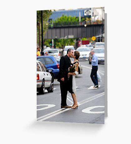 Stopping Traffic Greeting Card