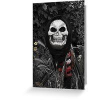 Voodoo figure Greeting Card