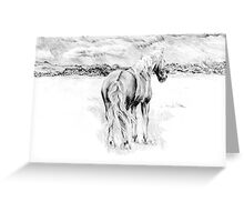Dartmoor view Greeting Card