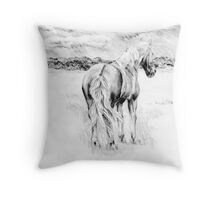 Dartmoor view Throw Pillow